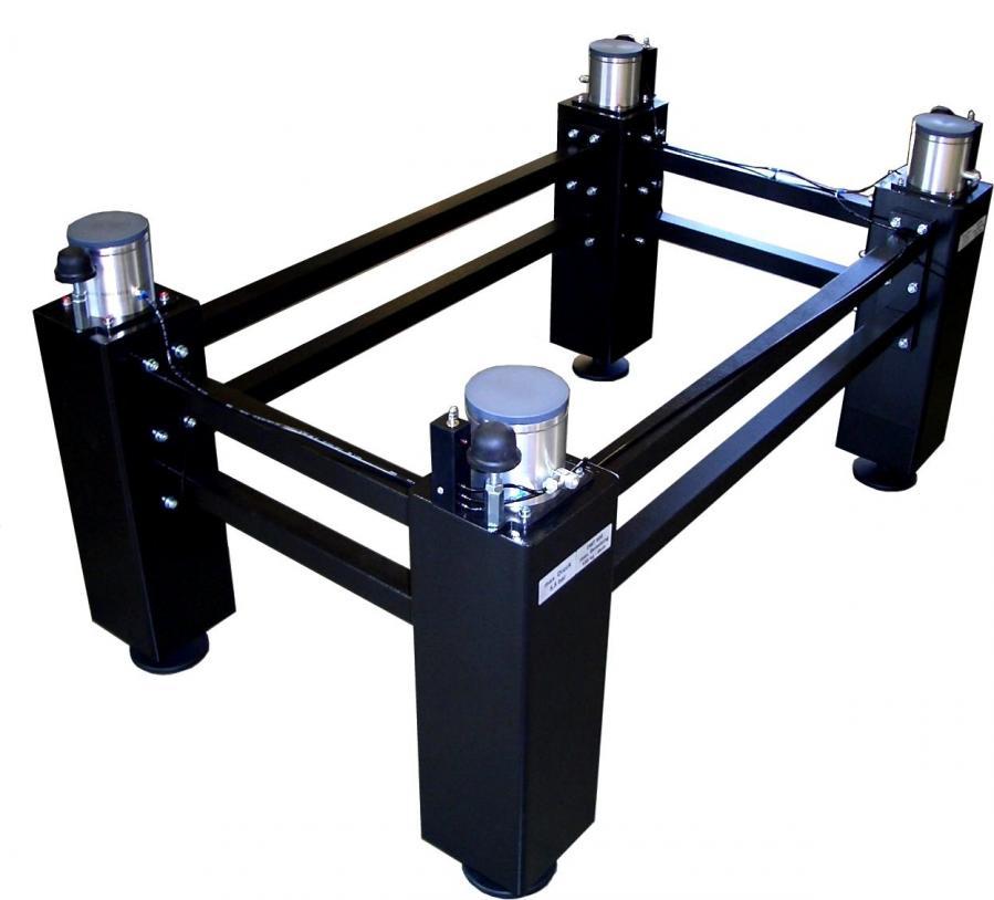 Pied DMT anti vibration pour table optique