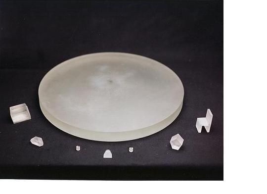 Ebauches de verres usinées ou moulées dans de nombreuses configurations