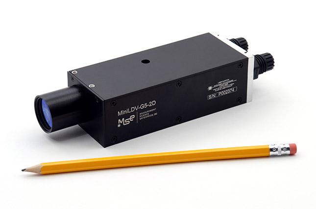 Vélocimètre à effet Doppler 2D miniLDV