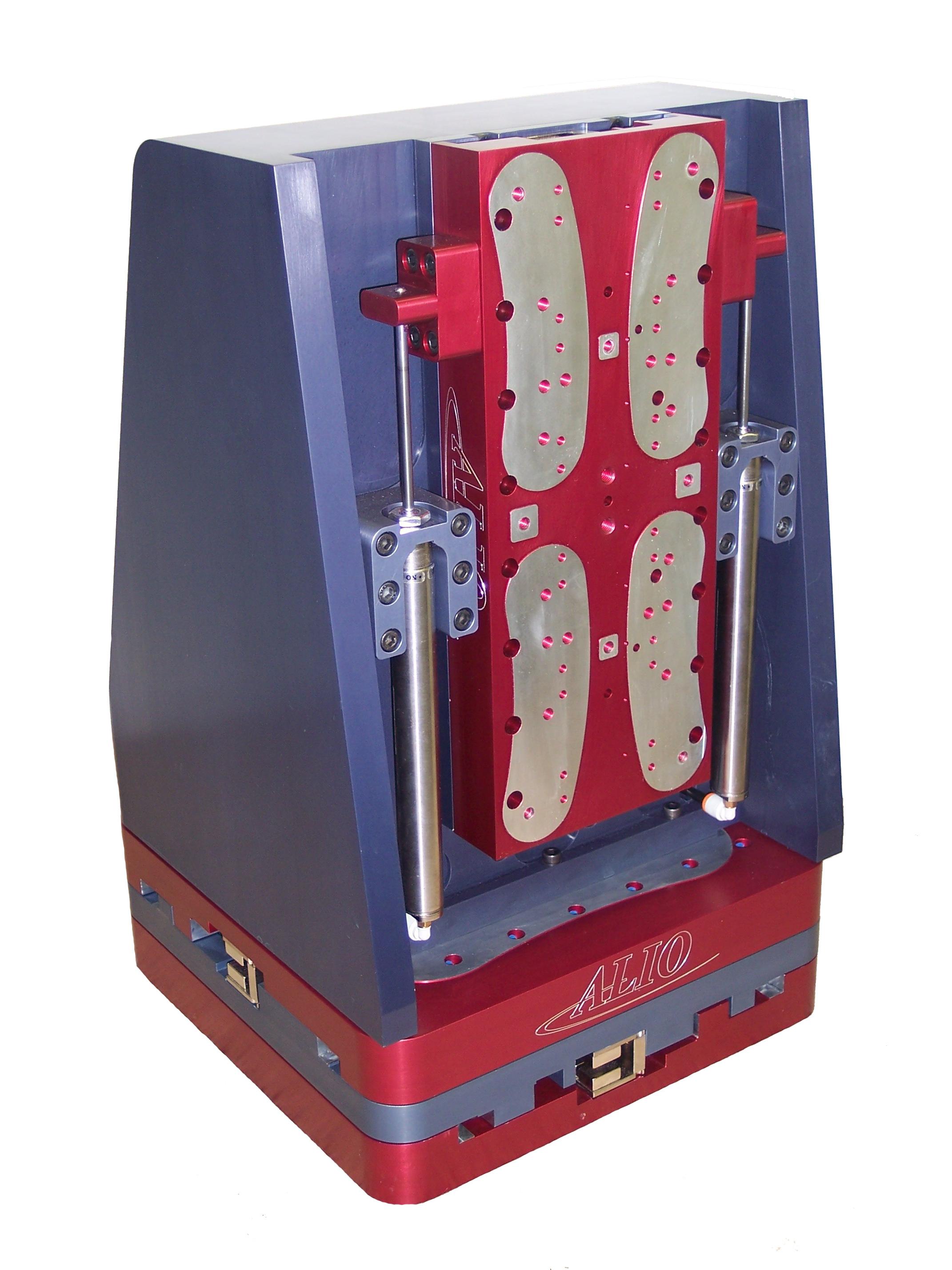 Platines d'élévation verticales hautes performances avec contrepoids