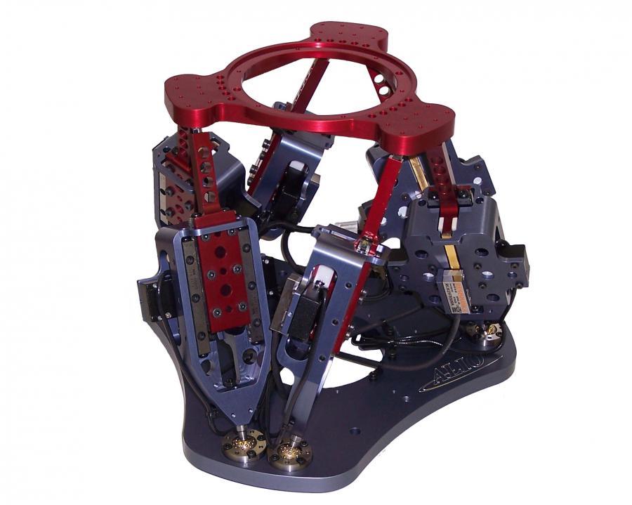 Hexapode à moteur pas à pas