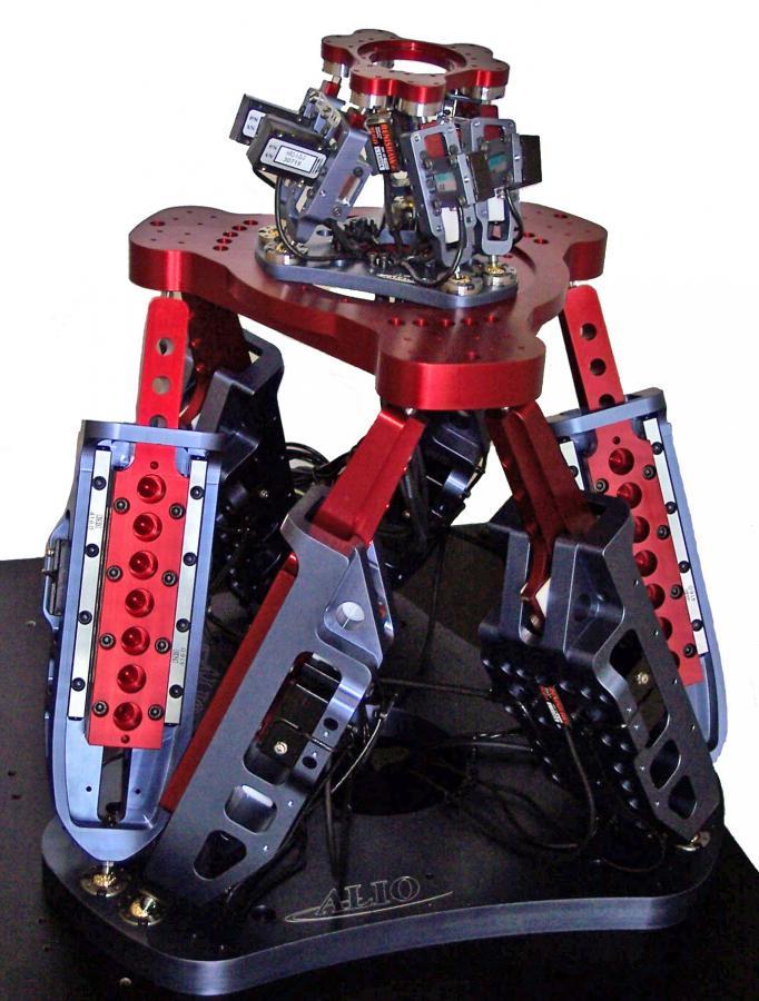 Hexapode à moteur linéaire