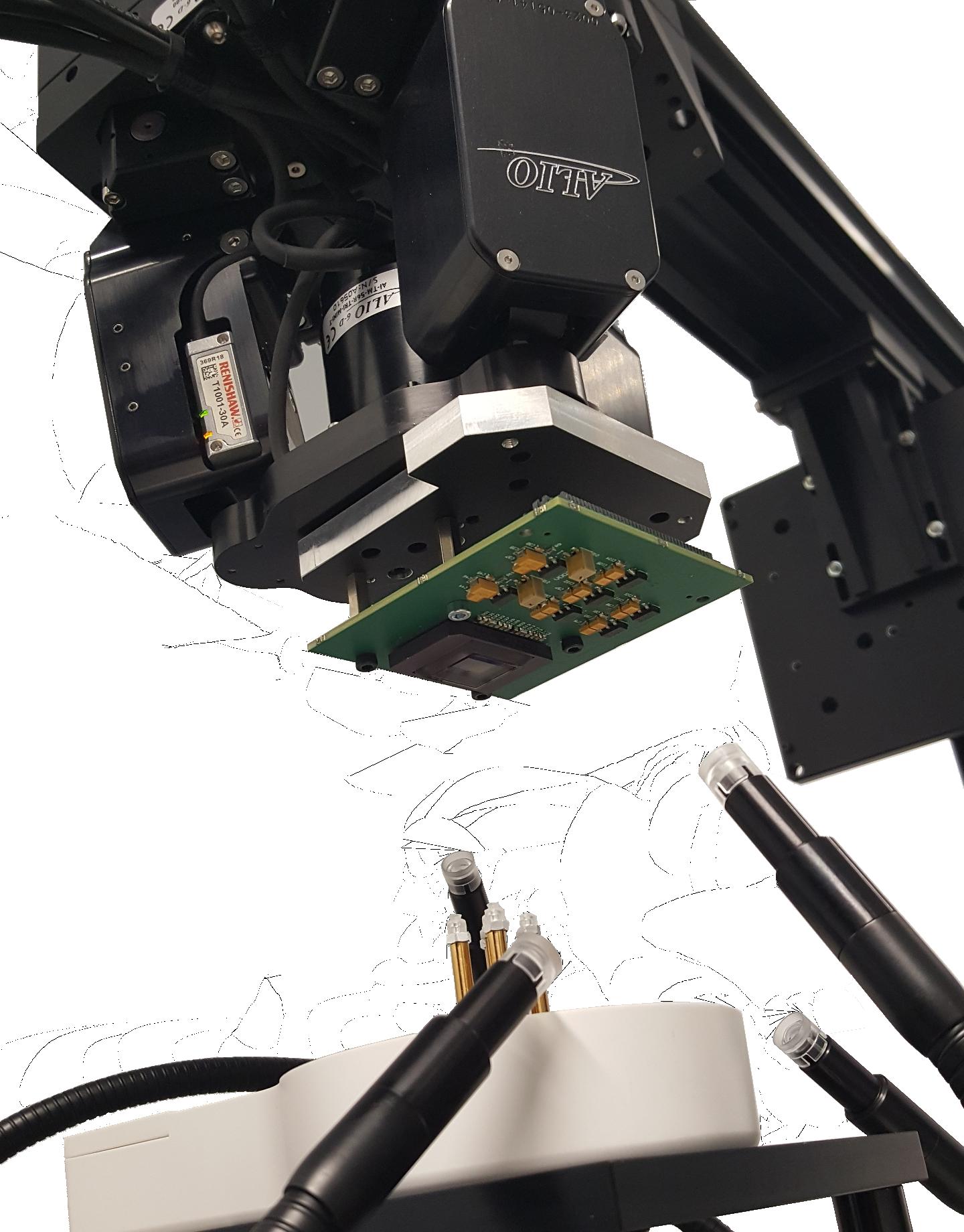 Banc d'alignement Capteur/Filtre MultiSpectral