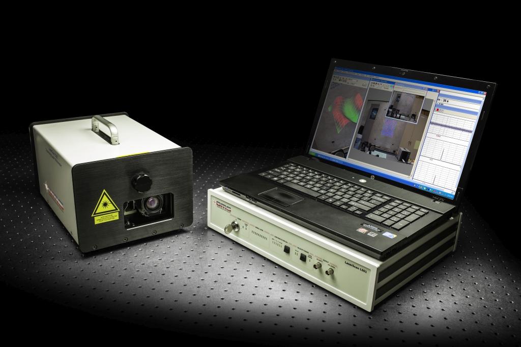 Vibromètre laser Doppler à balayage